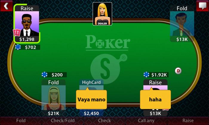 Jeux poker texas hold'em gratuit