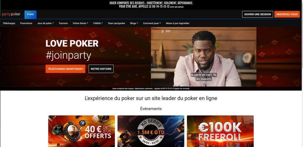 Party Poker France